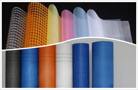 Fiberglass mesh for cement panel reinforcing