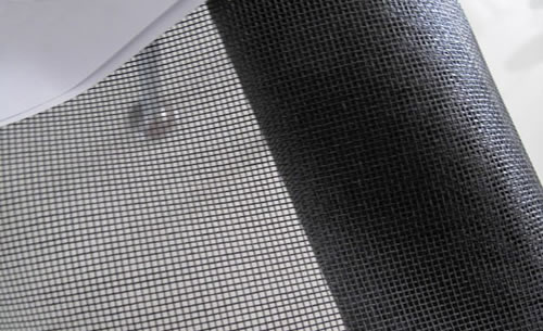 Charcoal Fiberglass Window Screen Door Mesh Fabric